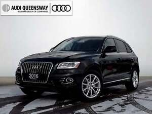 2016 Audi Q5 2.0T Technik, Navi, Camera, Audi Certified!