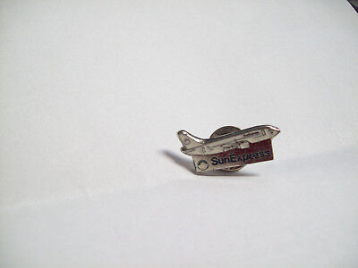 Airlines Pin 1993 Sun Express Flugzeug #33