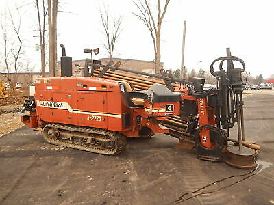 Ditch Witch Jt2720 Horizontal Directional Drill Boring Hdd
