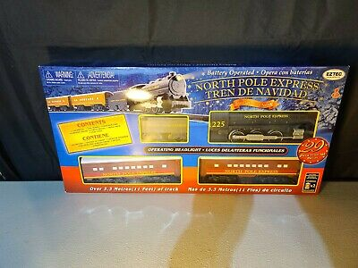 EzTec North Pole Express Christmas Train Set