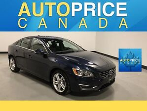 2015 Volvo S60 T5 Premier MOONROOF|LEATHER|HEATED SEATS