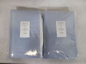 REUSABLE UNDERPAD Blue. Lot of(2) Heavy Duty 34x36 Washable Incontinence Bed Pad