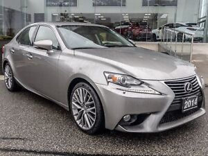 2014 Lexus IS 250 Premium PKG No Accidents Backup CAM Moonroof