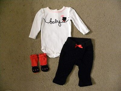 gymboree 3pc.baby girl circus star kitty outfit 3-6 months(RARE!)--#1000 - Circus Outfits
