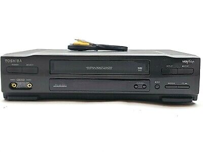 Toshiba M-45 VCR Video Cassette Player VHS Recorder Tape System Tested No Remote