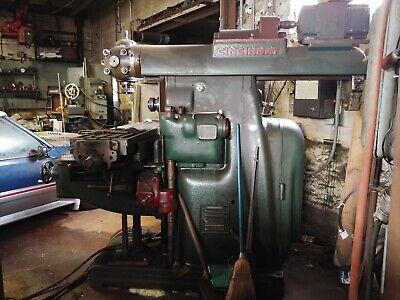 Cincinatti No 3 Vertical Horizontal Milling Machine