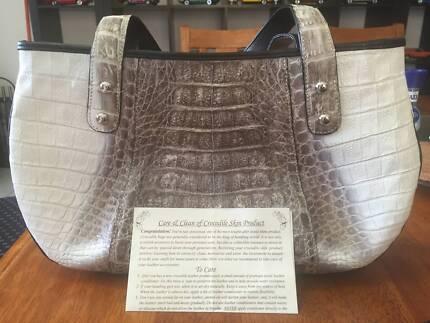 Crocodile skin handbag Bertram Kwinana Area Preview