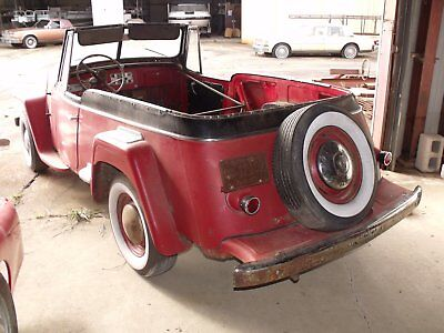 1949 Willys 4-63 : 1949 Willys Jeepster