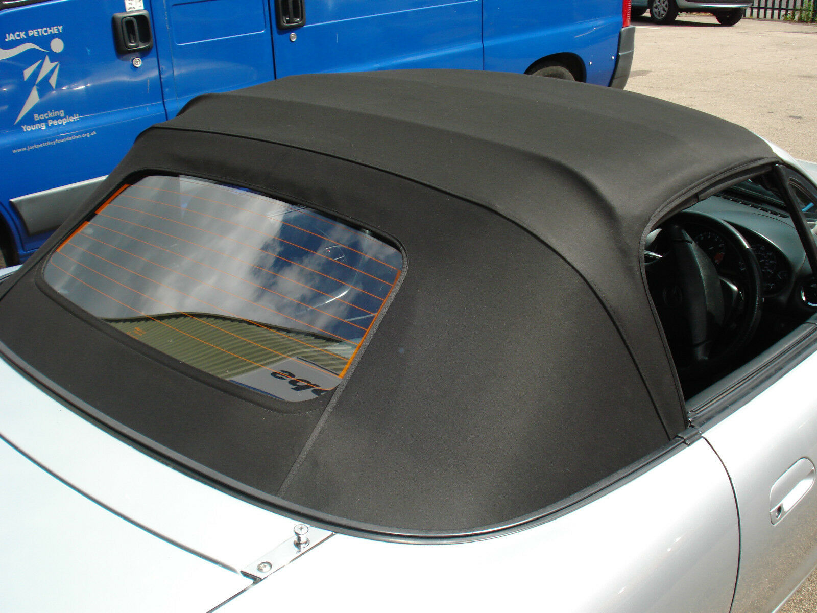 Mazda Mx5 Mk1 Soft Top Mohair Hood With Plastic Window 163