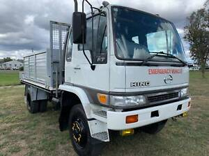 Hino FT 4x4 Traytop/Service Body Truck. Ex Govt. Service Vehicle Inverell Inverell Area Preview
