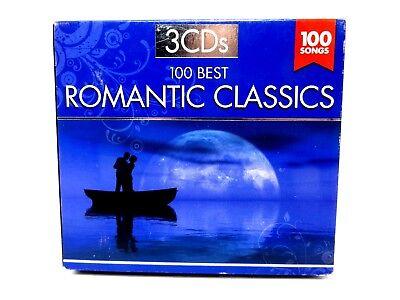 100 Best Romantic Classics ♫ 3 CD Set ♫ Various Artists ♫ Classical