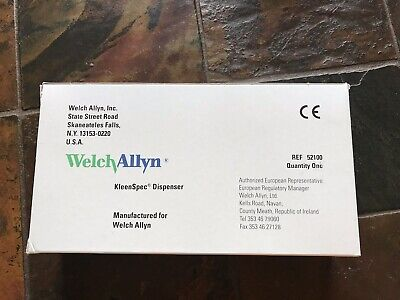 Welch Allyn Kleen Spec Dispenser Ref 52100