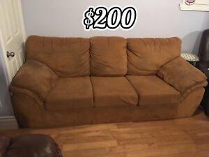 Microfibre Sofa
