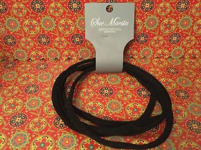 Multi Strand Band (Sue Maesta Black Multi Strand Headband head band Made in Italy NWT  )