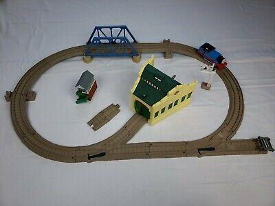 Thomas & Friends Trackmaster Railway Train System SODOR Adventure Set + Harold