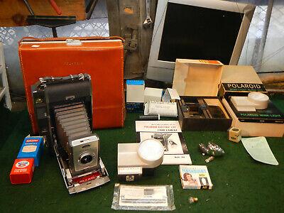 Polaroid 900 Land Camera - Model 900 - ELECTRIC EYE - original carrying