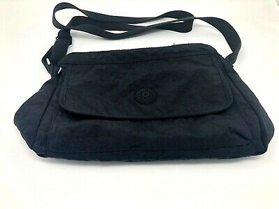 Kipling Medium Messager/Crossbody Bag Black Nylon