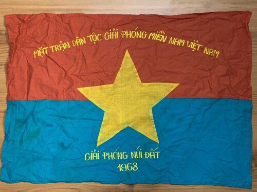 NVA , NLF , VIETNAM WAR FLAG , VC BATTLE FLAG ,  NLF LIBERATION , NUIDAT 1968
