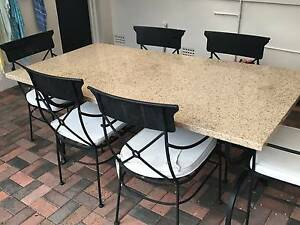 Fabulous Marble Table Lane Cove Lane Cove Area Preview