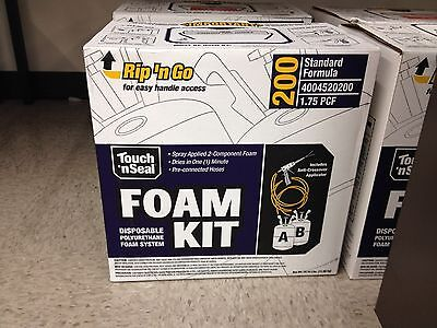 Touch N Seal U2-200 Spray Closed Cell Foam Insulation Kit 200bf