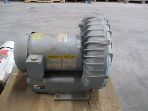 GAST MOD: R6350A-2 REGENAIR BLOWER 4.8HP MAZ 60/50HZ 215/180HZ #617206J NEW