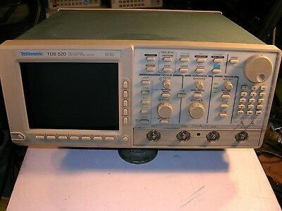 Tektronix Tds-520 2 Channel 500 Mhz Digital Oscilloscope As Is For Parts
