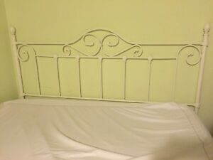 King Size  white French Country Headboard