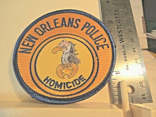 New Orleans Police Homicide patch NOS LA Louisiana vulture ?