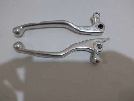 KTM EXC hand levers for brake and clutch