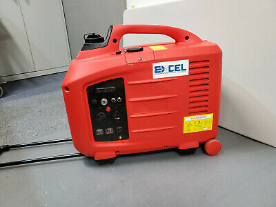 Excel 2600w Digital Inverter Generator With Remotekey Start 110v120v Rv Ready
