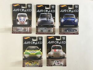Hot Wheels Car Culture Air Cooled Complete Set of 5 Mint