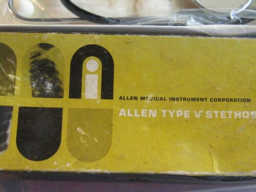 ALLEN MEDICAL TYPE V Stethoscope ND-360 APPEARS NEW IN BOX