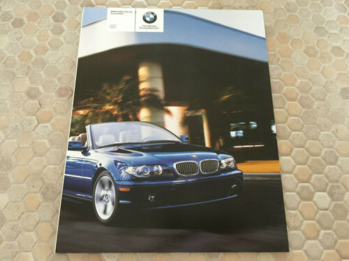 BMW OFFICIAL 3 SERIES CONVERTIBLE PRESTIGE SALES BROCHURE 2006 USA EDITION