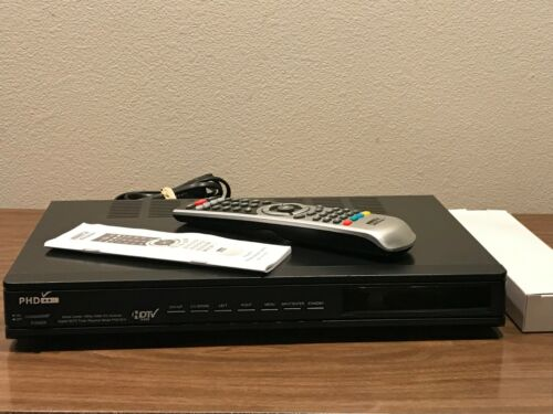 PHD PRIMEDTV PHD-8VX 1080P TV TUNER SCALER SWITCHER + REMOTE / TESTED