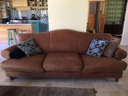 Domayne Leather Lounge