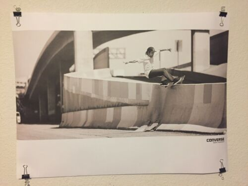 Converse Kenny Anderson Skate Skateboarding Skateboard Poster Print
