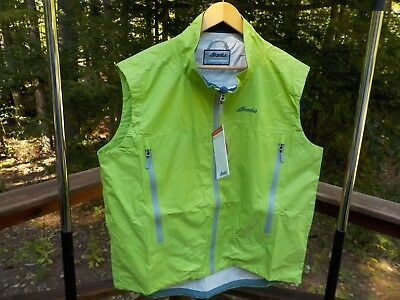 NWT Atlantis Weather Gear Microburst Men's XL Sailing Green Wind Rain Vest (Atlantis Weather Gear)