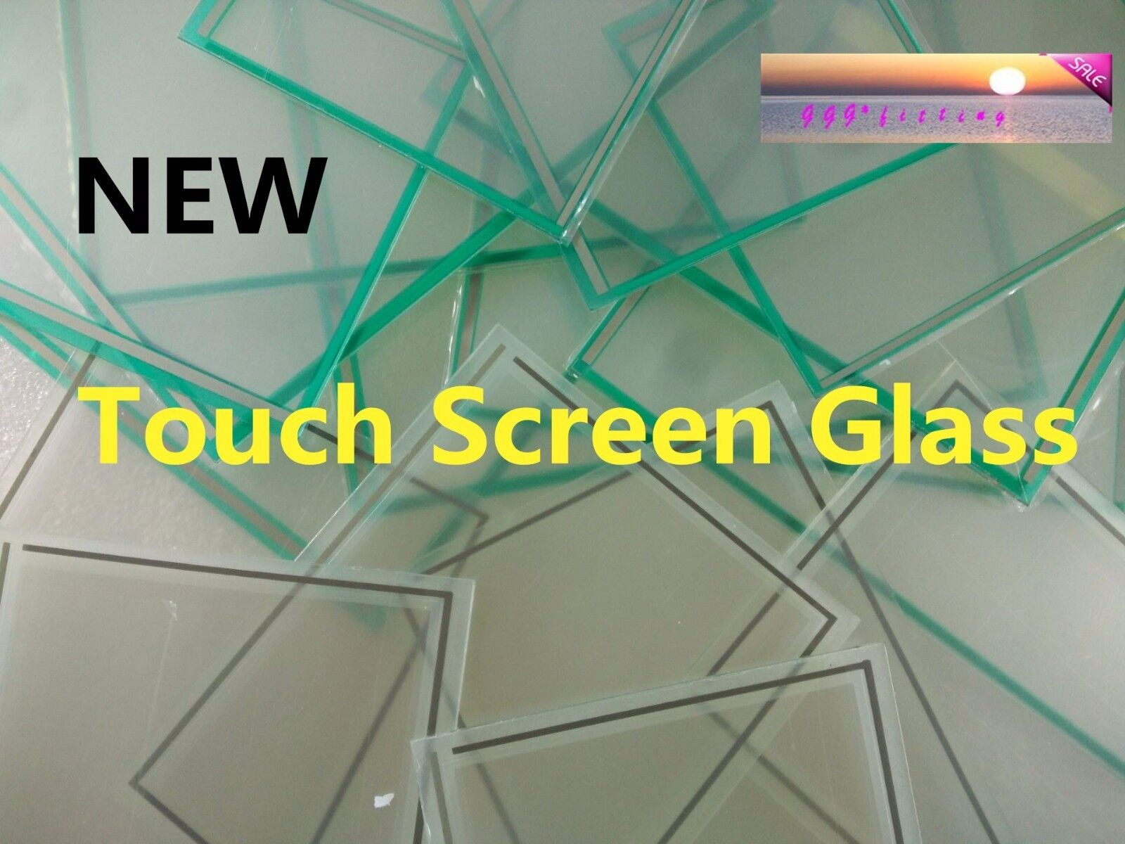 One For 3M/Microtouch P/N:95406T Touch Screen Glass Panel