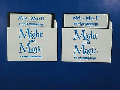 Might & Magic II Gates to Another World 1988 DISKS 2 and 3 (Might And Magic Ii Gates To Another World)