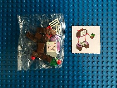 Lego Advent Calendar 2018 Friends (Day 14)-Piano with Music Sheet Ornament