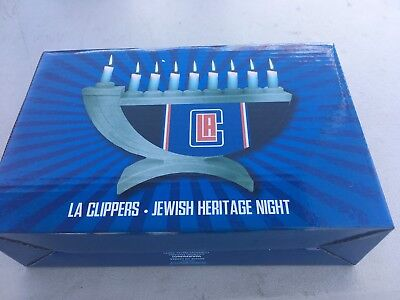 NBA LOS ANGELES Clippers Menorah 2017 Jewish Heritage Night  SGA - Clippers Nba