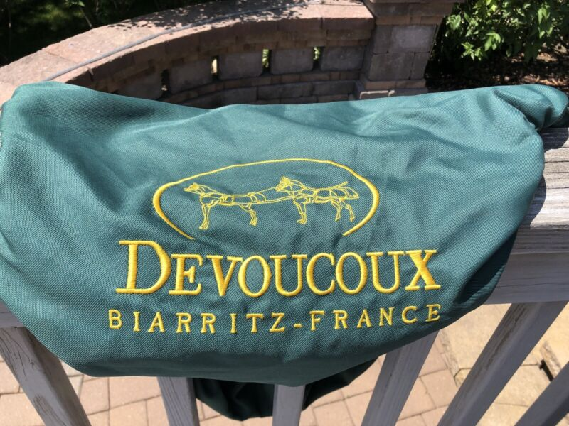 Devoucoux Never used Saddle Cover Brand new $70 beautiful Devoucoux Green