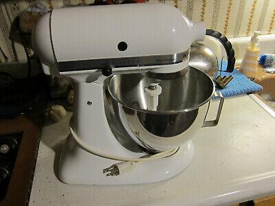 KitchenAid Ultra Power KSM90WH Tilt-Head Stand Kitchen Mixer 300W