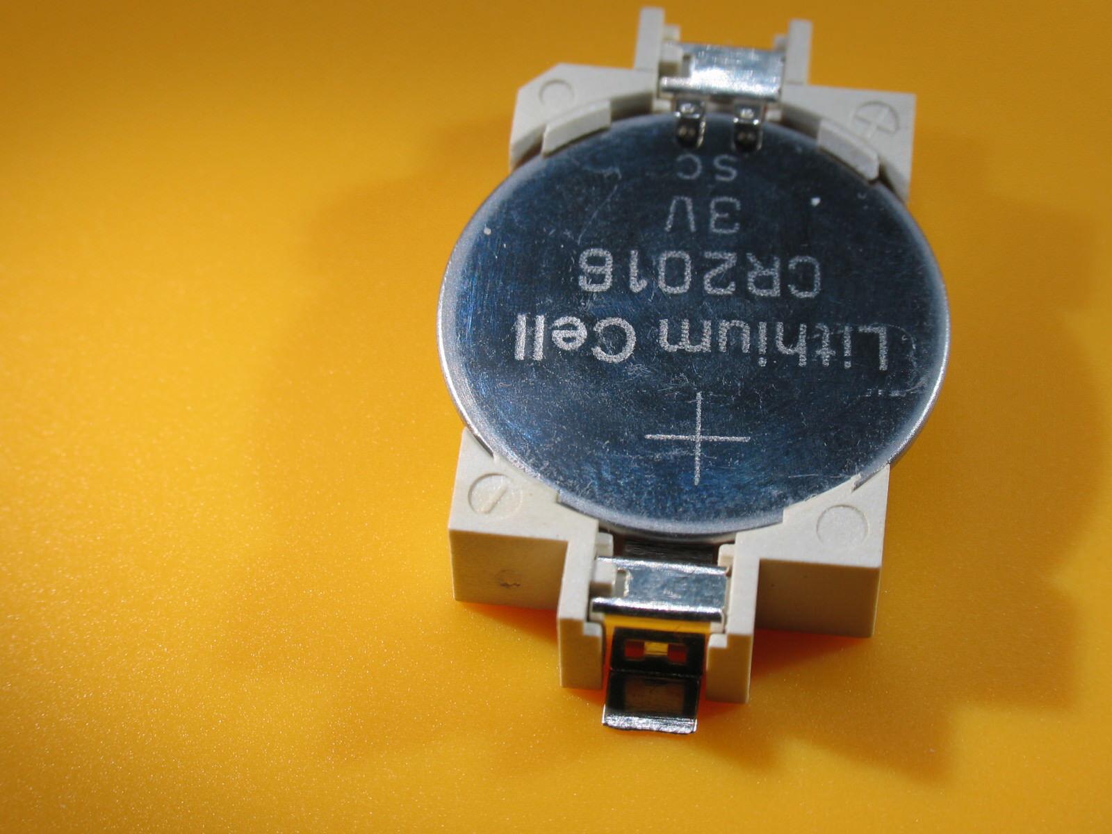 Batteriehalter für CR 2016 bis 2032, SMD, CMOS usw, Plus 1x CR2032