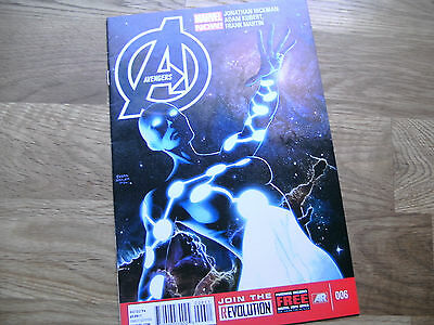 MARVEL Avengers graphic comic issue #6 Apr 2013 NEW! Hickman Kubert Cpt Universe