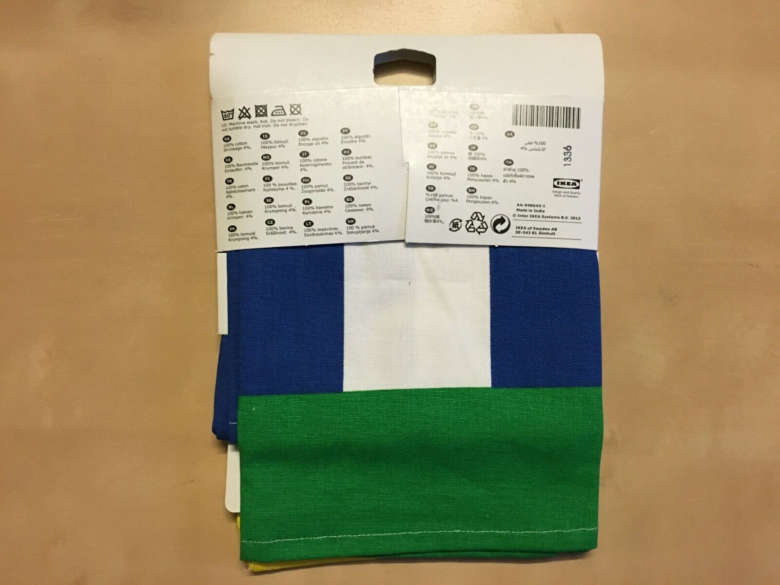IKEA SOLKUL 2 pack 100% Cotton Dish Towels, for Kitchen,Bar.