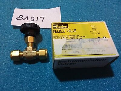 Parker Needle Valve  67a-v4lr-b