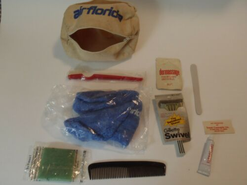 RARE VINTAGE AIR FLORIDA AIRLINES AMENITY KIT ORIGINAL COMPLETE TRAVEL CONCEPTS