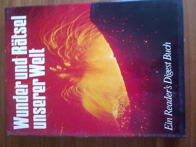 Wunder und Rätsel unserer Welt, Readers Digest   geb. rar 1973