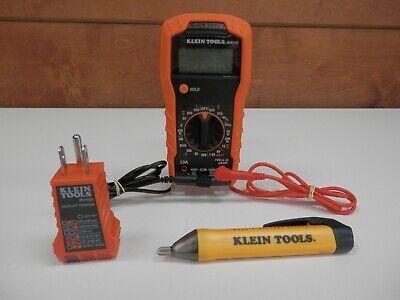 Klein Tools 69149 Electrical Test Kit Ncvt-1 Mm300 Rt105